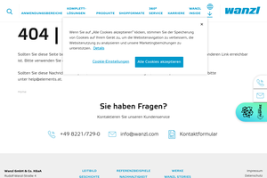 Vorschaubild der Homepage von Ladeneinrichtungen für Lebensmittelhandel