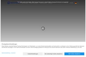 Vorschaubild der Homepage von Etikettierer von MR Etikettiertechnik