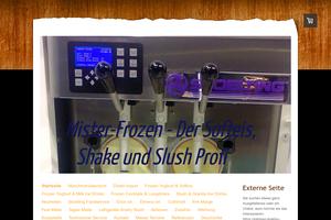 Vorschaubild der Homepage von mister.frozen-drinks