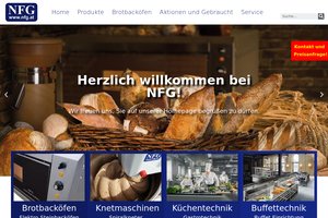 Vorschaubild zu NFG Hersteller von Brotbacköfen und Gastrogeräte