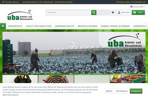 Vorschaubild der Homepage von Arbeits- Kälte- und Nässeschutz, Erntemesser u. Scheren