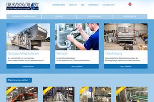 Vorschaubild der Homepage von Bavaria Getränkemaschinen GmbH