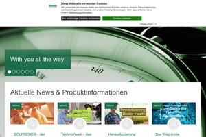 Vorschaubild der Homepage von Biochem - Futtermitteladditive