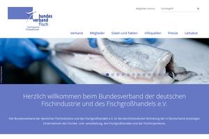 Vorschaubild der Homepage von Bundesverband der Deutschen Fischindustrie und des Fischgroßhandels e.V.