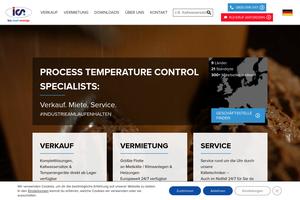 Vorschaubild der Homepage von Kühltechnik - Erst mieten - dann kaufen!