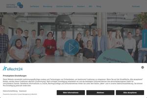 Vorschaubild der Homepage von TurboBack NT  - Die professionelle Bäckereisoftware
