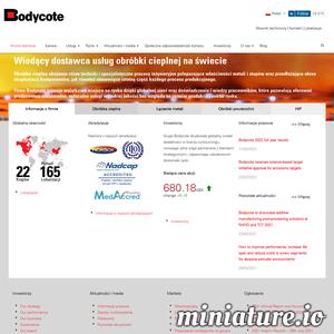Bodycote Polska - obróbka cieplna_ cieplno - chemiczna