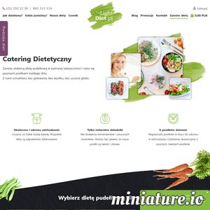 Miniatura Catering Dietetyczny www.lightdiet.pl