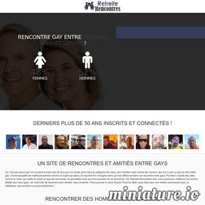 Retraite-rencontres.club : Rencontres gays entre retraités, vieux et seniors