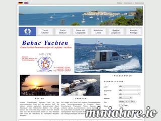 Babac Yachten - Yachtcharter