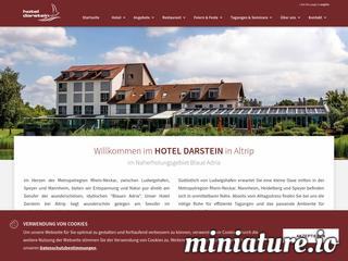 Hotel Darstein aus der Metropolregion Rhein-Neckar