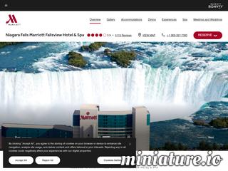 Marriott Niagara Falls Hotel - Niagara Falls Hotels