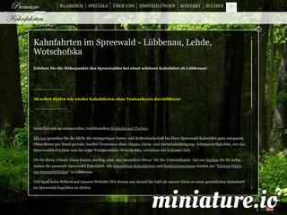 Kahnfahrt im Spreewald