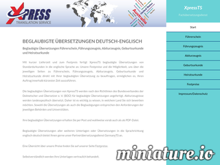 Xpress Translation Service