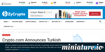 Crypto.com Announces Turkish App and Exchange Update