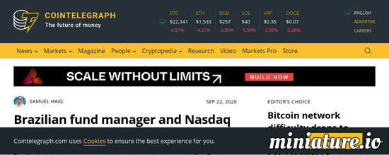 Cool huh? Please read the full Article: Brazilian fund manager and Nasdaq to launch world's first Bitcoin ETF